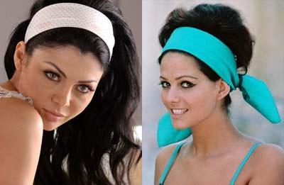 Bandeaux de Haifa Wehbe et Claudia Cardinale