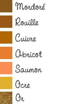 Maquillage des yeux marron : tons cuivrés à dorés