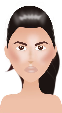 Se maquiller les sourcils comme Kim Kardashian