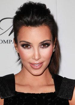 Comment se maquiller comme Kim Kardashian– du «glossy» pour le soir