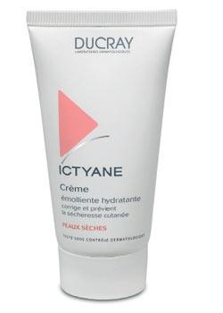 Ictyane de Ducray - Crème émolliente hydratante pour peaux sèches