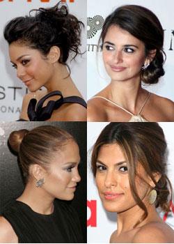 Tendance coiffure : chignons des stars