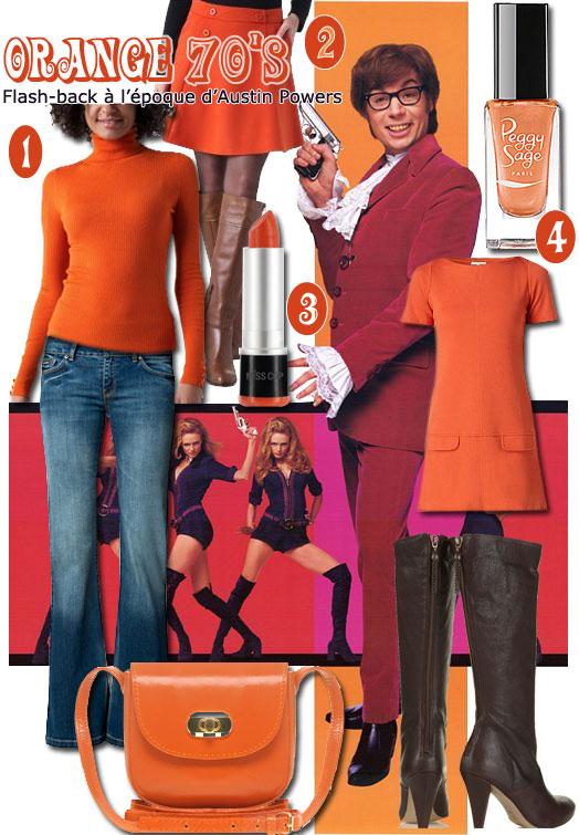 Tendance mode : Look rétro seventies