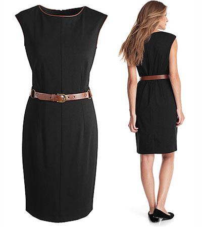 Robe noire Esprit