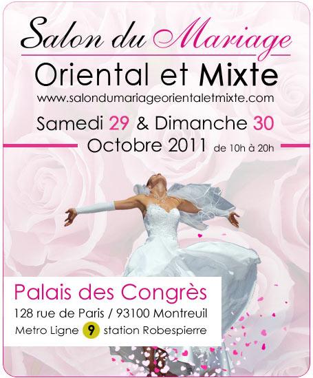 Salon du Mariage Oriental et Mixte Paris 2011