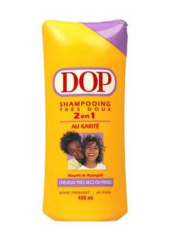 Shampoing au karité de Dop pour cheveux très secs et frisés