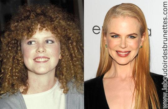 Nicole Kidman : cheveux frisés ou lisses ?
