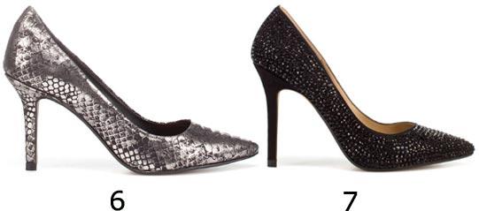 Chaussures de soirée : escarpins paillettes à bout pointu
