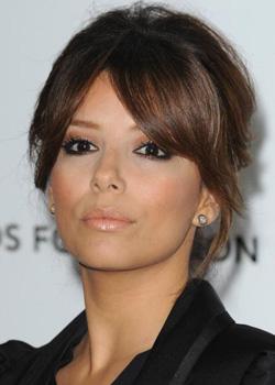 Maquillage d'Eva Longoria : maquillage pour teint mat et yeux noirs