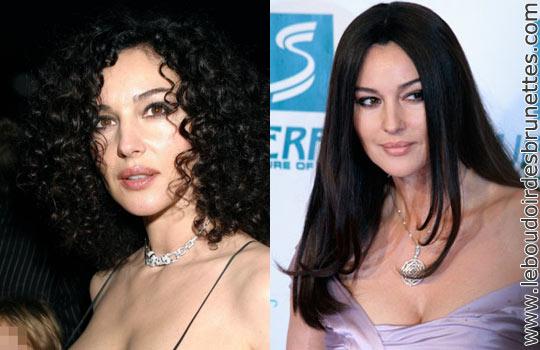 Monica Bellucci, Haifa Whebe, Salma Hayek, Vanessa Paradis, etc. : les stars frisées qui se lissent les cheveux…