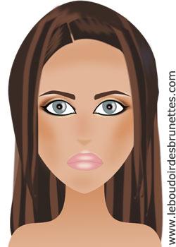 Maquillage d'Adriana Lima : maquillage de stars