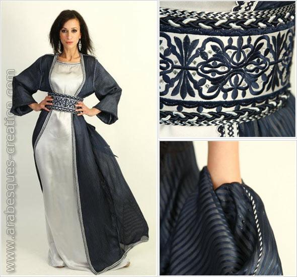 Sabah Amina Caftans – Arabesques : l'alliance de l'art traditionnel algérien et de la broderie française haute couture