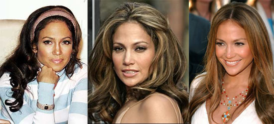 Jennifer Lopez brune ou blonde