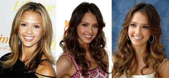 Jessica Alba brune ou blonde