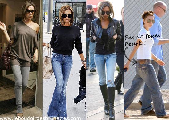 Trop maigre comme Victoria Beckham