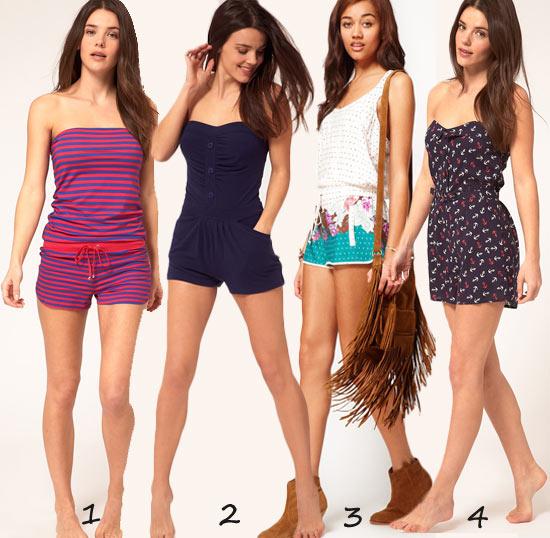Mode Shopping : 10 combishorts de plage, de ville ou de soirée
