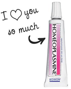 Secrets de maquilleur pro : l'homéoplasmine comme baume à lèvres gercées, gel à sourcils, base de fards à paupières, soigner les ampoules, etc.