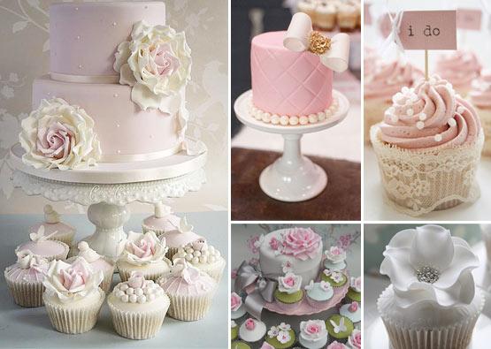 Gâteaux de mariage Haute-couture : gâteaux, pièces montées et cupcakes en pâte à sucre