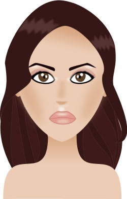 Lèvres « nude » comme Penélope Cruz