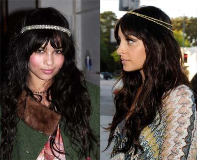 Serres-têtes Hippie Chic de Zoe Kravitz et Nicole Richie