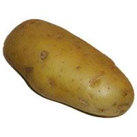 Pomme de terre pour yeux gonflés