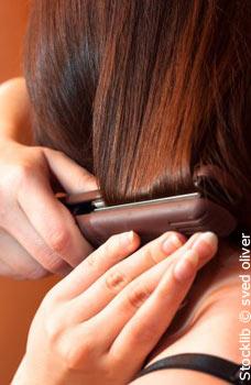Fer à lisser pour cheveux bouclés à très frisés