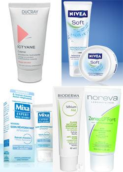 5 crèmes hydratantes pour peaux normales, mixtes, grasses, sèches et sensibles