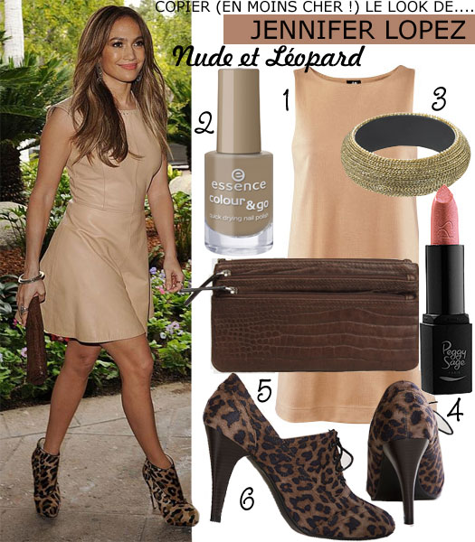 Look de Jennifer Lopez
