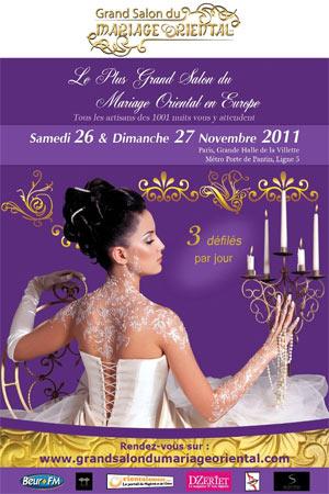 Grand Salon du Mariage Oriental Paris 2011
