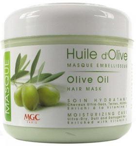Masque sans silicone MGC Huile d'olive pour cheveux secs