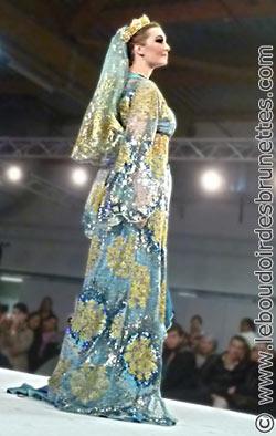 Photos du défilé du Salon du Mariage oriental et mixte Paris 2011