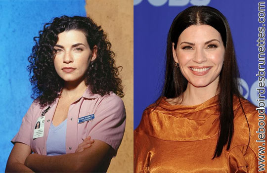Julianna Margulies : cheveux frisés ou lisses ?