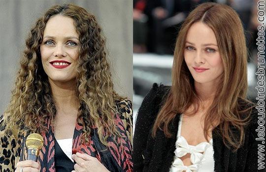 Vanessa Paradis : cheveux frisés ou lisses ?