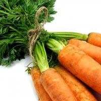 Masque beauté maison avec du jus de carottes