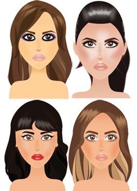 Maquillages de soirée et de fêtes