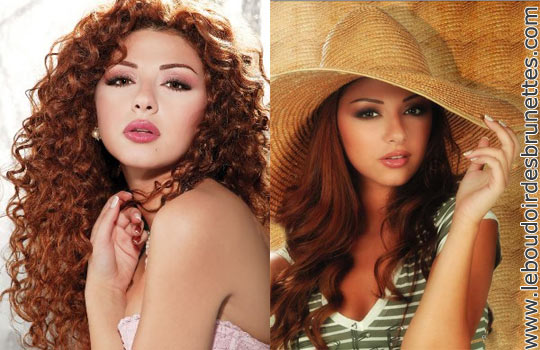Myriam Fares : cheveux frisés ou lisses ?