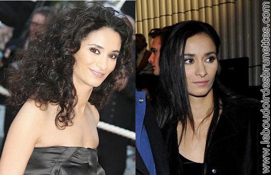 Rachida Brakni : cheveux frisés ou lisses ?