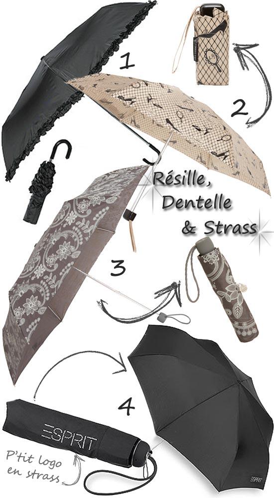 Parapluies élégants