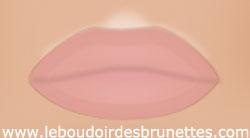 Astuce maquillage pour des lèvres pulpeuses : couleur de rouge à lèvres