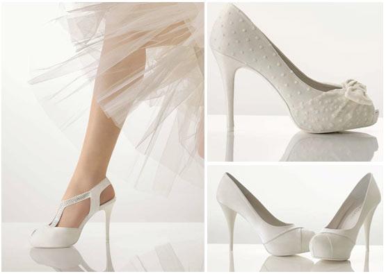 Chaussures de mariée 2012