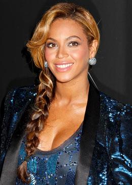 Coiffure de star : Tresse sage de Beyonce
